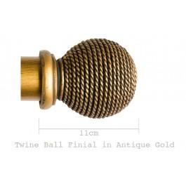 Twine Ball Finial