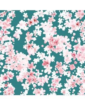 Cherry Blossom Aquamarine