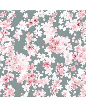 Cherry Blossom Blue Smoke