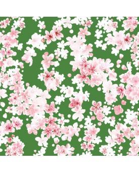 Cherry Blossom Emerald