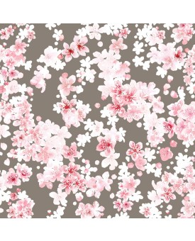Cherry Blossom Hessian