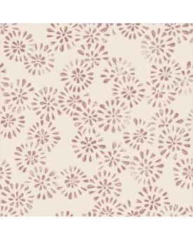 Jasmine Motif Pink Ink