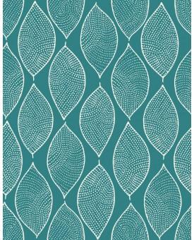 Leaf Mosaic Aquamarine