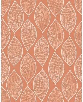 Leaf Mosaic Creamsicle
