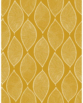 Leaf Mosaic Saffron