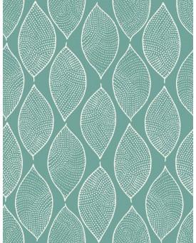 Leaf Mosaic Verdigris