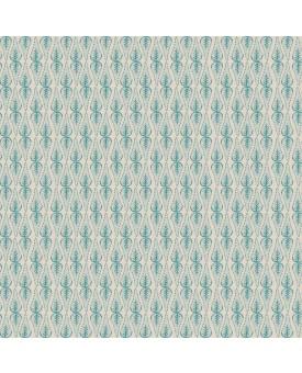 Mahal Motif Aquamarine